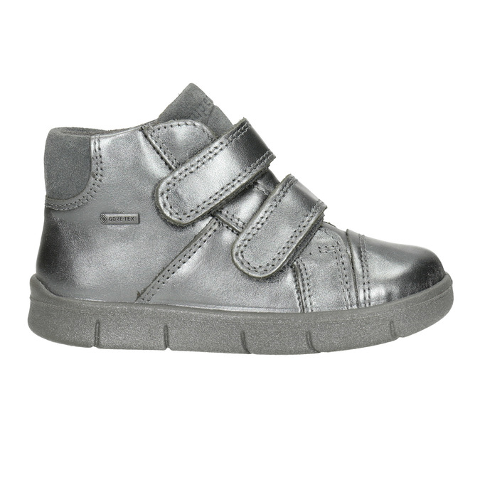 Children's ankle boots superfit, gray , 126-1037 - 26