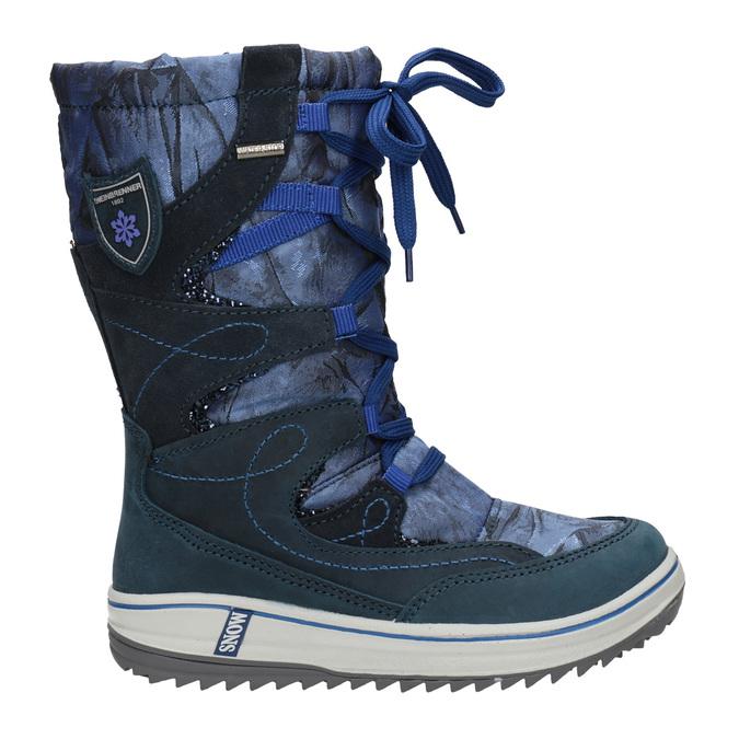 Children's Snow Boots weinbrenner-junior, blue , 393-9607 - 16
