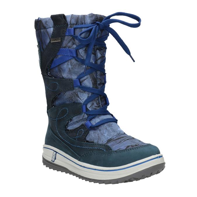 Children's Snow Boots weinbrenner-junior, blue , 393-9607 - 13