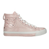 Ladies' pink ankle sneakers diesel, red , 501-5743 - 16