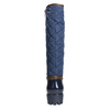 Ladies' blue wellingtons bata, blue , 592-9402 - 16