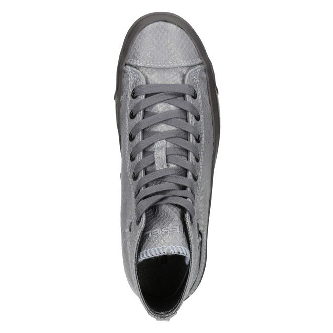 Ladies' ankle sneakers diesel, gray , 501-2743 - 17