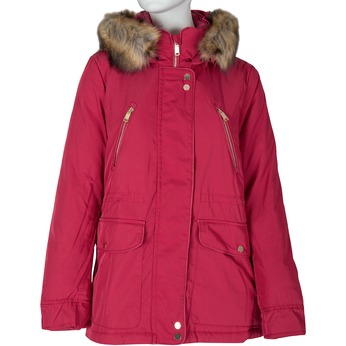 Ladies' Red Hooded Jacket bata, red , 979-5177 - 13