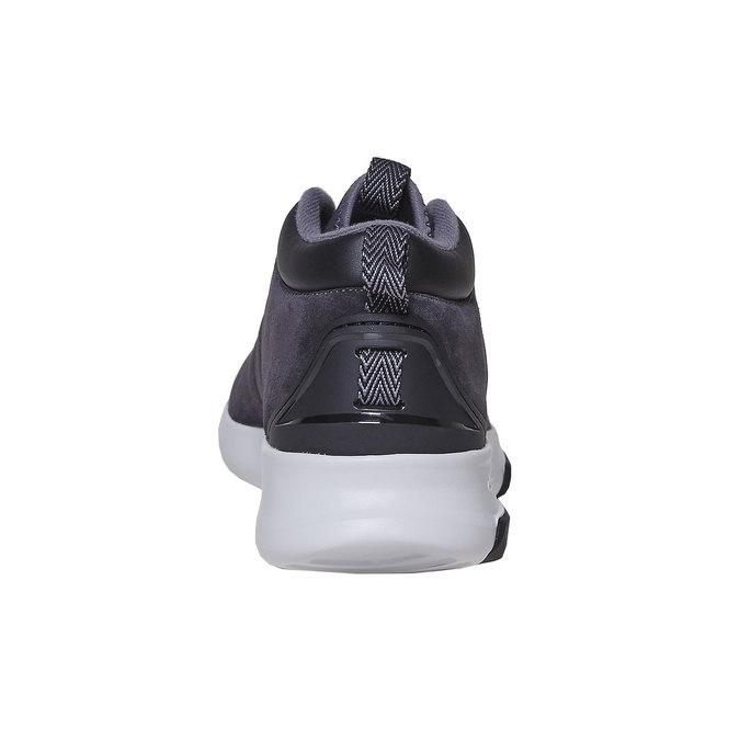Men's Leather Sneakers adidas, black , 803-6202 - 17