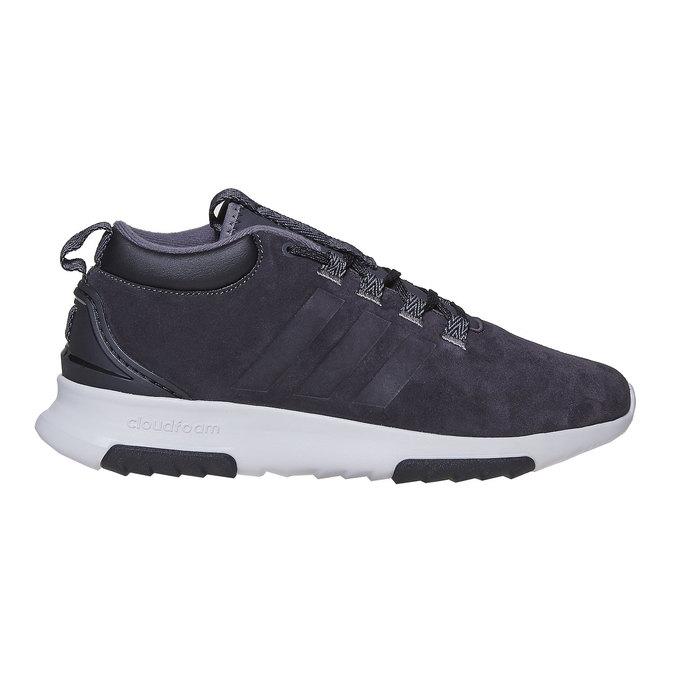 Men's Leather Sneakers adidas, black , 803-6202 - 15