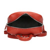 Red leather backpack picard, red , 964-4045 - 15