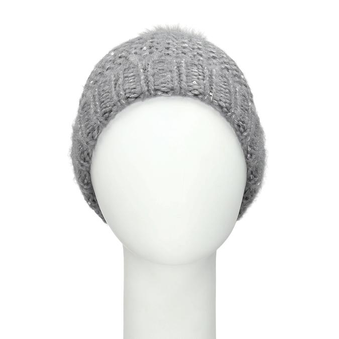 Furry Pompom Hat bata, multicolor, 909-0152 - 26