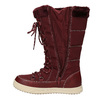Ladies' Burgundy Snow Boots bata, red , 599-5621 - 15
