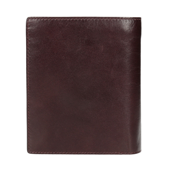 Leather wallet bata, brown , 944-4121 - 16