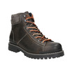 Men's Winter Leather Ankle Boots bata, brown , 896-2660 - 13