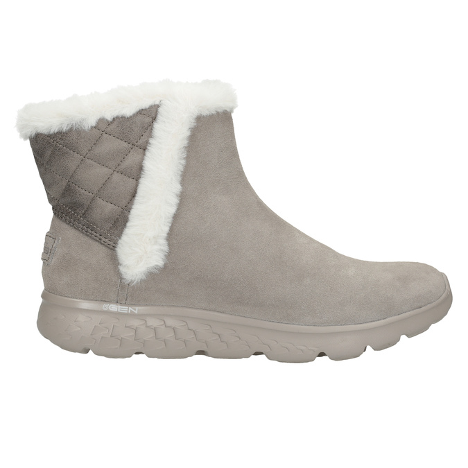 Ladies' brushed leather boots skechers, 503-3326 - 16