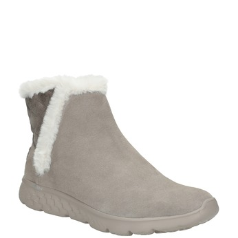 Ladies' brushed leather boots skechers, 503-3326 - 13