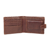 Gift pack with leather belt and wallet bata, brown , 954-3201 - 15