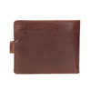 Gift pack with leather belt and wallet bata, brown , 954-3201 - 16