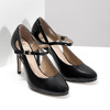 Patent pumps with cut-outs insolia, black , 721-6614 - 26
