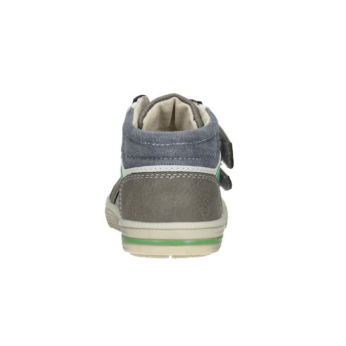 Kids' ankle boots bubblegummer, gray , 111-2614 - 16