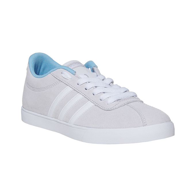 Ladies' grey sneakers adidas, gray , 501-2229 - 13